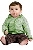 Precious Cargo - Infant Snap Front Reversible Jacket-06M (Apple Green)