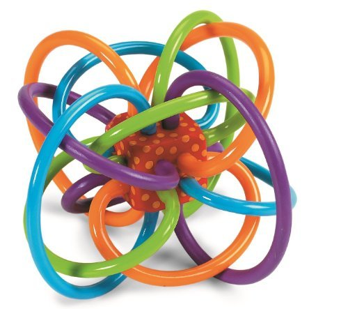 manhattan-toy-bpa-free-winkel-rattle-and-sensory-teether-activity-toy-45-inch-with-e-book