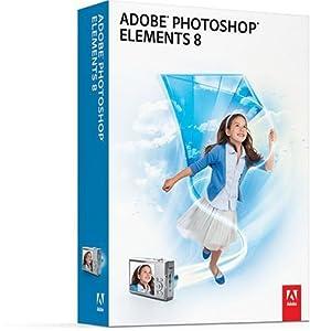 Adobe Photoshop Elements 8, Upgrade Edition (PC DVD)