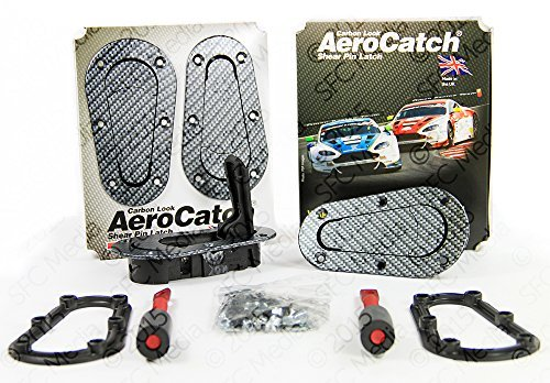 aerocatch-plus-flush-hood-latch-and-pin-kit-black-carbon-fiber-look-now-includes-molded-fixing-plate