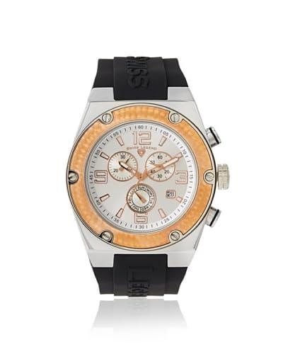 Swiss Legend Men's 30025-02S-RB Throttle Silver Silicone Watch