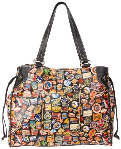 Sydney Love Vintage Hotel Tote,Multi,One Size