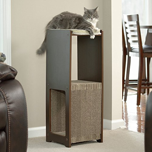 Sauder Woodworking Cat Scratcher High Perch