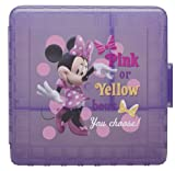 Planet Zak! Minnie Mouse Lunchtime GoPak Divided Food Storage Container