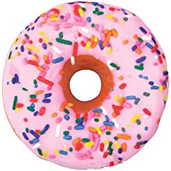 iscream Sweet Treats Donut Microbead Pillow
