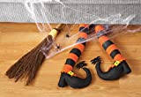 Pair Of Witch's Legs Halloween Party Decoration