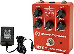 Xact XTS Atomic Overdrive Pedal w/ Power Supply by Xact