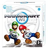 Mario Kart with Wii Wheel (Wii) - Wii Remote Not Includedby Nintendo