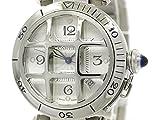 [カルティエ]Cartier【CARTIER】カルティエ パシャ 38 コンベックス グリッド ステンレススチール 自動巻き メンズ 時計W31059H3(BF091274)[中古]