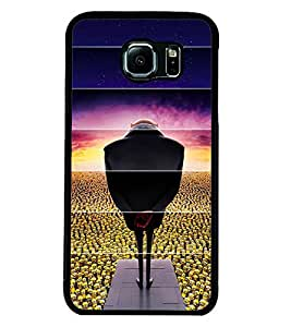 MENTAL MIND DESIGNER HARD SHELL BACK COVER CASE FOR SAMSUNG Galaxy S6 EDGE