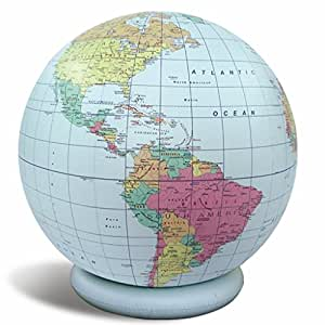 Amazon.com : Planet Earth Inflatable Political Globe -Dry ...