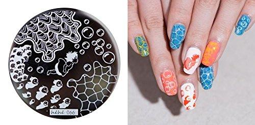 nail art stamping bild metal platte nail art design muster. Black Bedroom Furniture Sets. Home Design Ideas