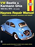 img - for VW Beetle & Karmann Ghia 1954 through 1979 All Models (Haynes Repair Manual) book / textbook / text book