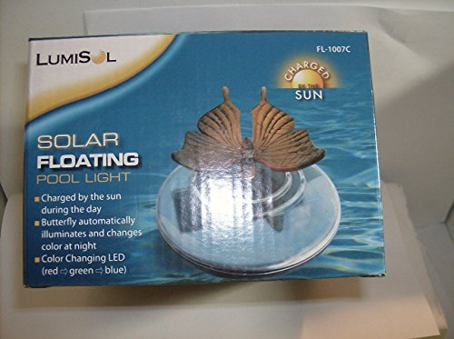 Lumis L Solar Floating Pol Light Butterfly