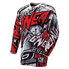 O'Neal Hardwear Automatic Downhill Jersey Gentlemen black/red Size