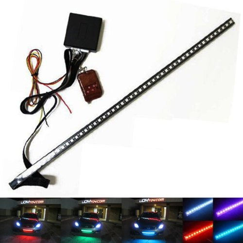 iJDMTOY 20 inches 48-LED RGB LED Knight Rider