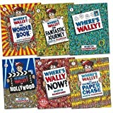 Martin Handford Where's Wally books: 6 large picture books box set (Where's Wally? Where's Wally in Hollywood / Where's Wally Now? The Great Picture Hunt / The Fantastic Journey / The Wonder Books rrp £41.94)