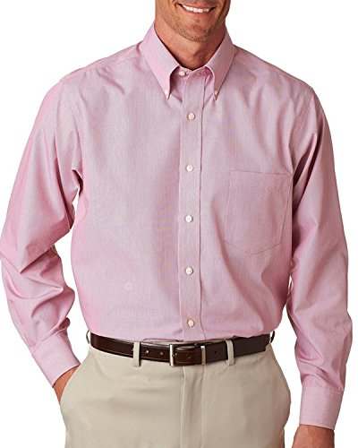 Van-Heusen-V0420-Mens-Long-Sleeve-Feather-Stripe