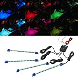 4pc. Multi-Color 7 Color LED Interior Underdash Lighting Kit thumbnail