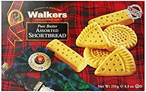 Walkers Shortbread Assorted, 8.8 oz. Boxes, 6 Count