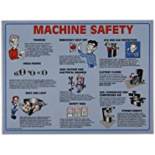 Brady 45664 Prinzing Machine Safety Poster Tubed
