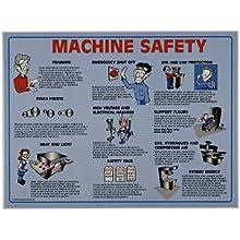 Brady 45664 Prinzing Machine Safety Poster Tubed