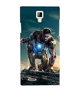 printtech Superhero Avengers Back Case Cover for Micromax A99 Canvas Xpress