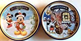 Royal Dansk Butter & Chocolate Chip Cookies 9oz Tin - Disney Mickey Mouse Limited Edition 2pack Bundle (Mickey's Good Deed & Mickey)
