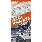 Indian Himalaya Trekking Map, Ladakh, Zanskar, Garhwal, Ost-Karakorum, Ost-Kashmir, Kumaon, Kinnaur, Pangong 1...