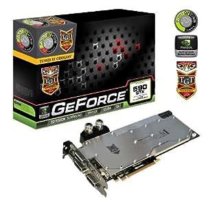 TGT GF GTX 590 Beast Grafikkarte (PCI-e, 3GB GDDR5 Speicher, 3 DVI, Mini DP, 2 GPUs)