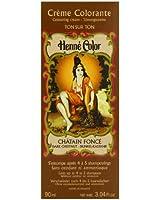 Henne Color Dark Chestnut Henna Hair Colouring Cream 90 ml
