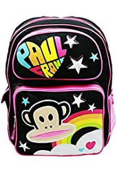 Paul Frank Embroidered Applique Large Backpack