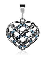 Bohemian Love Story Conjunto de cordón y colgante Crossed Heart