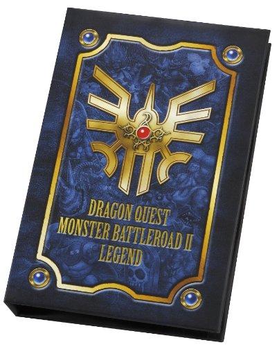 Dragon Quest Monster Battle Road II Legend Official Card Binder dragon card 1l