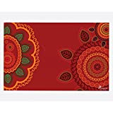 PICKYPOMP Abstract Art 5 Wall Poster Art - Laminated Unframed 8x12 Inch