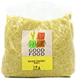 Mintons Good Food Pre-Packed Bulgar Cracked Wheat Medium 1 Kg (Pack of 5)