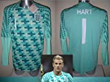England JOE HART Goalkeeper Shirt Jersey BNWT Adult Large Umbro Man City Football Soccer L/S Long Sleeve World Cup Top