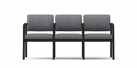 Lesro L3103G5 Lenox Series 3 Seat Sofa with Center Arms