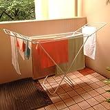 OANS オアンス クロスドライヤー 室内洗濯物干しスタンド ヨーロッパスタイル 折り畳み