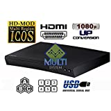 Samsung BD-F5100 Upgraded Multi Region Zone Free Blu Ray DVD Player - PAL/NTSC - Worldwide Voltage - 6 Feet HDMI Cable Included