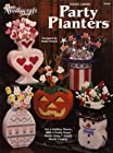 Plastic Canvas Party Planters #953326 (Set A Holiday Theme With 5 Pretty Vases Made Using 7-Count Plastic Canvas)