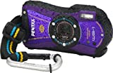 Pentax Optio WG-1 Adventure Series 14 MP Waterproof Digital Camera with 5x Wide-Angle Optical Zoom (Purple)