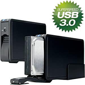 Fantec ER-35U3 Festplattendockingstation (8,9 cm (3,5 Zoll), USB 3.0) schwarz