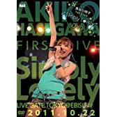 長谷川明子 1st Live\u201cSimply Lovely\u201dDVD