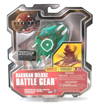 Bakugan Deluxe Battle Gear Vehicle Jakalier (Green) by Spin Master - 1
