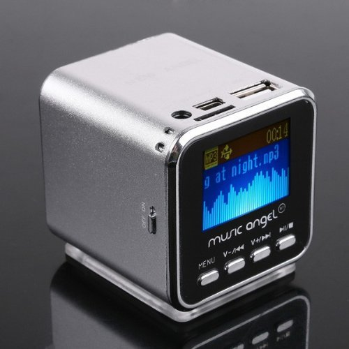 Micro Sd Tf Usb Mini Stereo Speaker Music Mp3 Player Fm Radio