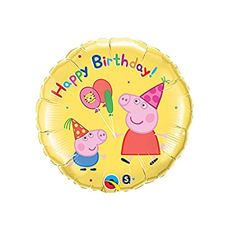 Come and celebrate the birthday with Peppa Pig!