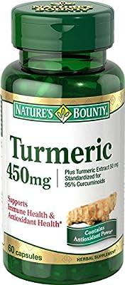 Nature's Bounty Turmeric/Curcumin, 240 Capsules, 450 Mg Bounty -eg