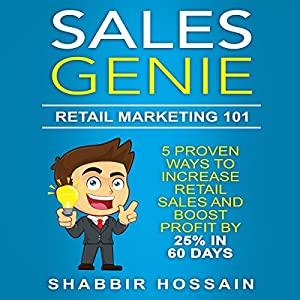 Sales Genie: Retail Marketing 101 Audiobook