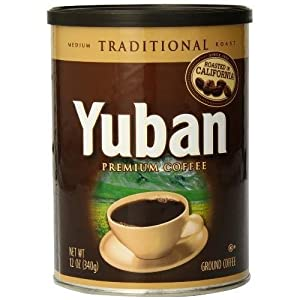 Yuban Traditional Ground Coffee. 12 Ounce New